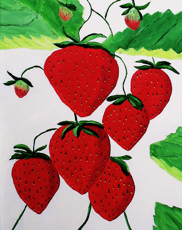 Strawberries by Rodney Campbell