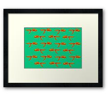 Toothy Fish Framed Print