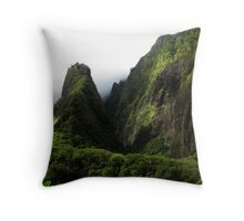 Iao Needle Throw Pillow