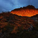 All Fired Up - Cradle Mountain Tasmania by Mark Shean