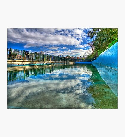 Water Level - MacCallum Pool - Cremorne Point - Sydney - Australia Photographic Print
