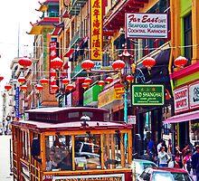 Chinatown Streetcar by Tamara Valjean