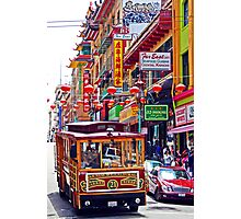 Chinatown Streetcar Photographic Print