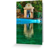 Pool Hut - MacCallum Pool - Cremorne Point - Sydney Australia Greeting Card