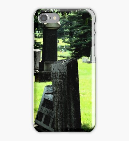 Graveyard by Day iPhone Case/Skin