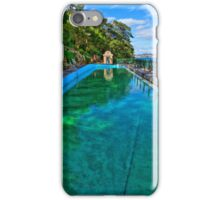 MacCallum Pool - Cremorne Point - Sydney - Australia iPhone Case/Skin