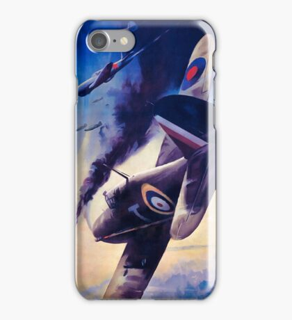 WW2 Propaganda Poster Reproduction iPhone Case/Skin