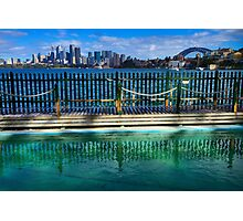 Pool With A View - Cremorne - Sydney Australia Photographic Print