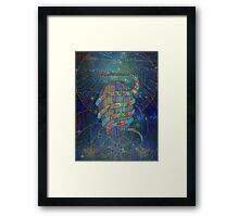 First Manifestation digital - 2015 Framed Print