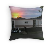 ma wee st andrews hoose Throw Pillow