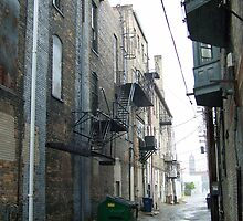 Flint, MI alleyway by MichiganGirl