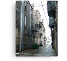 Flint, MI alleyway Canvas Print