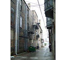 Flint, MI alleyway Photographic Print
