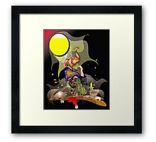 First Fight Framed Print