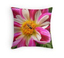Amber Nectar Throw Pillow