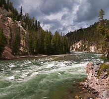 Yellowstone River by JimGuy