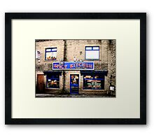 Time for a take away curry Framed Print