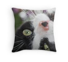 The Upside Throw Pillow