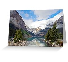 Lake Louise, Rocky Mts, Canada Greeting Card
