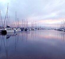 Boats at Manly Harbour by thatkellychic