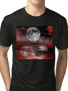 Sea of Love-abstract+Products Design Tri-blend T-Shirt