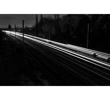 Travel By Light Photographic Print