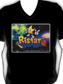 Ristar Genesis Megadrive Sega Start menu screenshot T-Shirt
