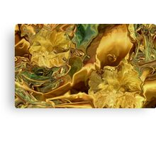 Rich Gold - abstract+Product Design Canvas Print