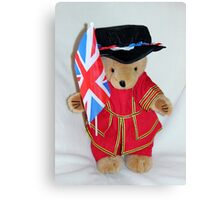 Jubilee Beefeater Canvas Print