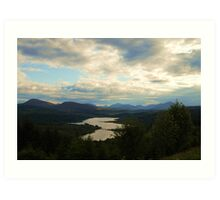 Lochs Glens and Mountains Art Print