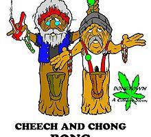 CHEECH & CHONG BONG by lordwoza