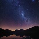 Cradle Aurora - Cradle Mountain Tasmania by Mark Shean