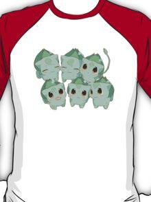 Kawaii Bulbasaurs T-Shirt