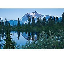 Picture Lake II Photographic Print