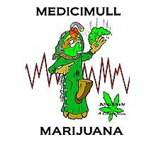 medicimull marijuana Photographic Print