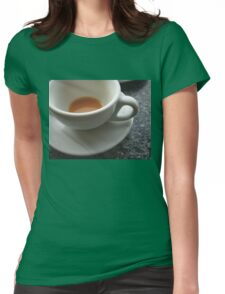 Coffee? Womens Fitted T-Shirt