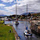 Caledonian Canal by Lynn Bolt