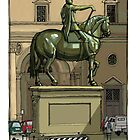 Florence Statue by David  Kennett