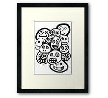 smiley's Framed Print
