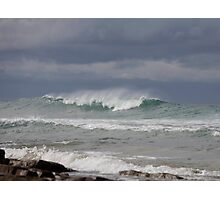 seascapes #228, storm coming Photographic Print