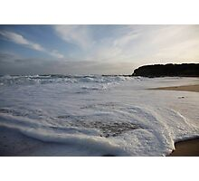 seascapes #223, froth Photographic Print