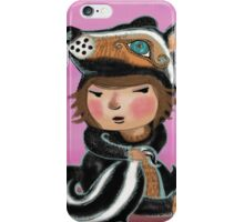 Skunk, my favourite animal is a skunk iPhone Case/Skin