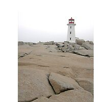 far away lighthouse Photographic Print