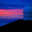 Canada-France-Hawaii Telescope by Sharon Ulrich