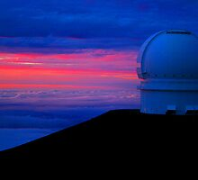Canada-France-Hawaii Telescope by Sharon Ulrich