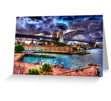Campbells Cove. Greeting Card