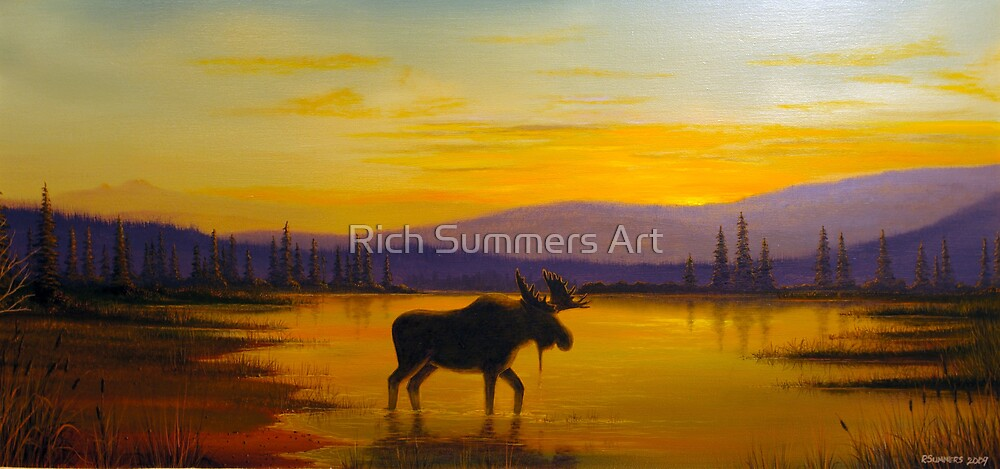 Golden Serenity by Rich Summers