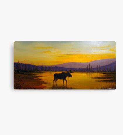 Golden Serenity Canvas Print