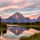 Mount Moran Reflection by Teresa Zieba