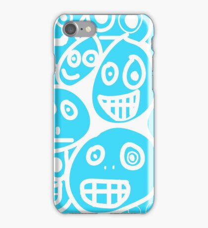 smiley's four iPhone Case/Skin